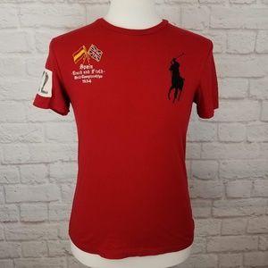 Polo Ralph Lauren Embroidered Team Spain T-Shirt